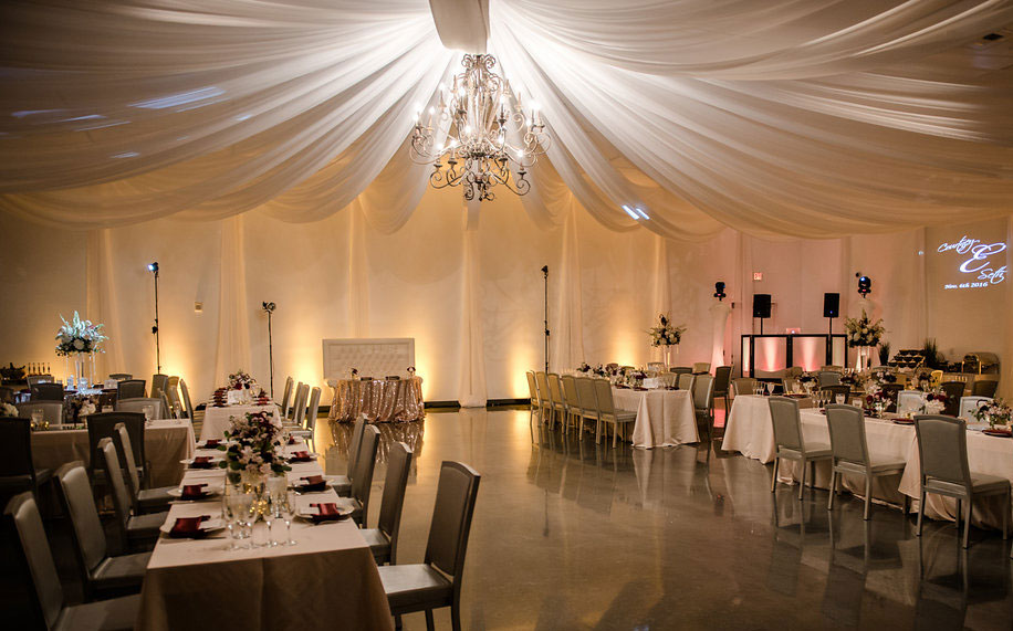 Wedding MEET Las Vegas White Draping